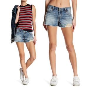 Levi's Cut Off Shortie Short in Shattered Dusk